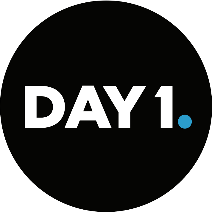 Day 1 logo black