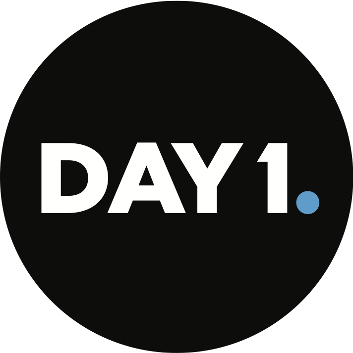 Day 1 logo black